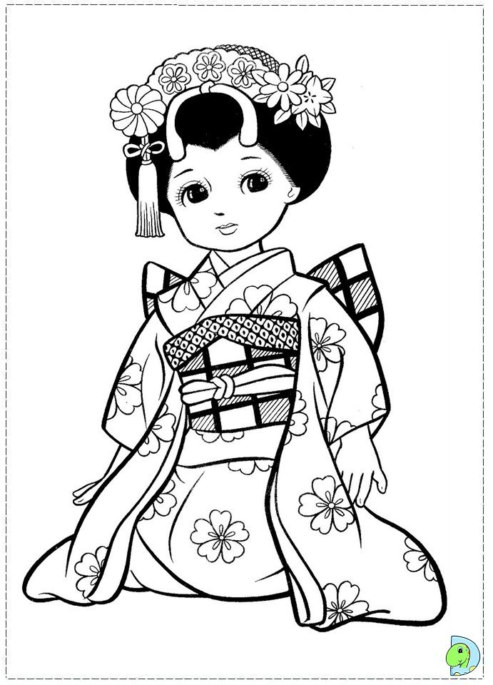 coloring pages dolls - photo#36