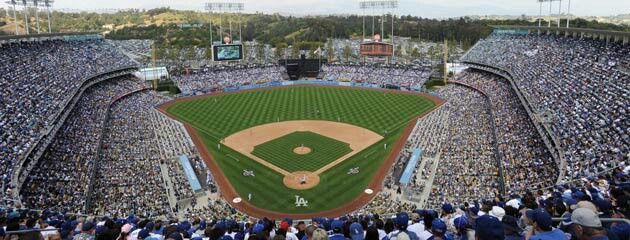 Pin By Leo Ramirez On Stadiums Dodger Stadium Dodgers Dodgers Baseball