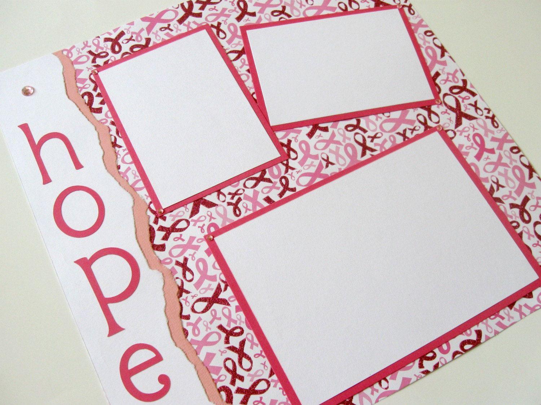 Hope Scrapbook Page