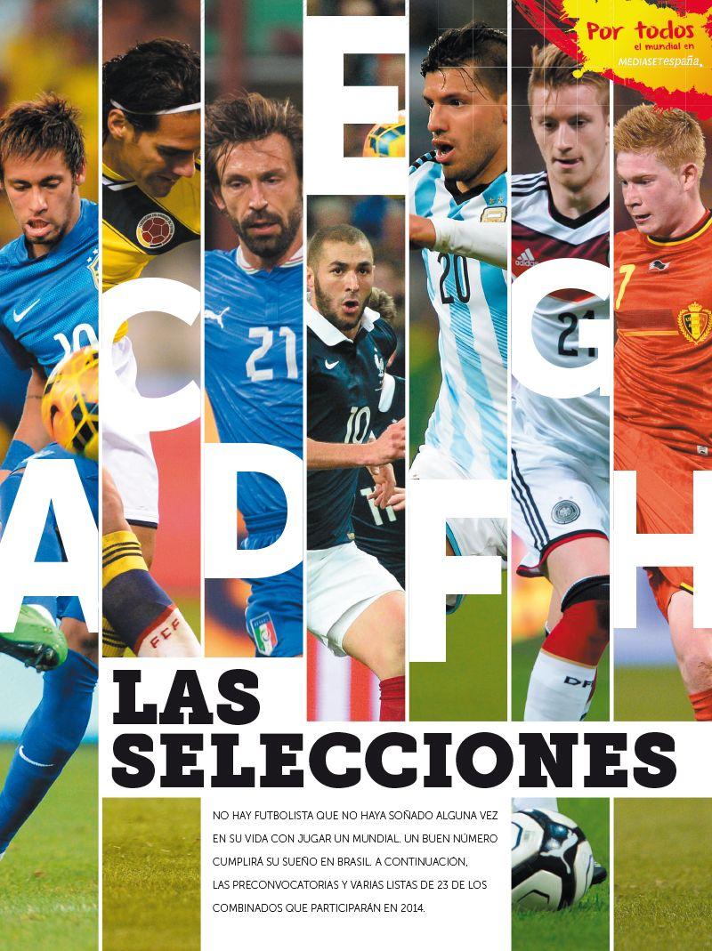 Guía Mundial 2014. Mediaset.