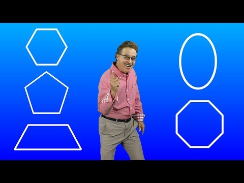 (9) Shapes, Sides and Vertices Version 2 Jack Hartmann