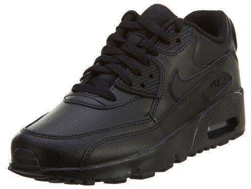 separation shoes 9c31e 0e403 Nike Air Max 90 LTR (GS) Black Black Running Shoe 5.5 Kids US