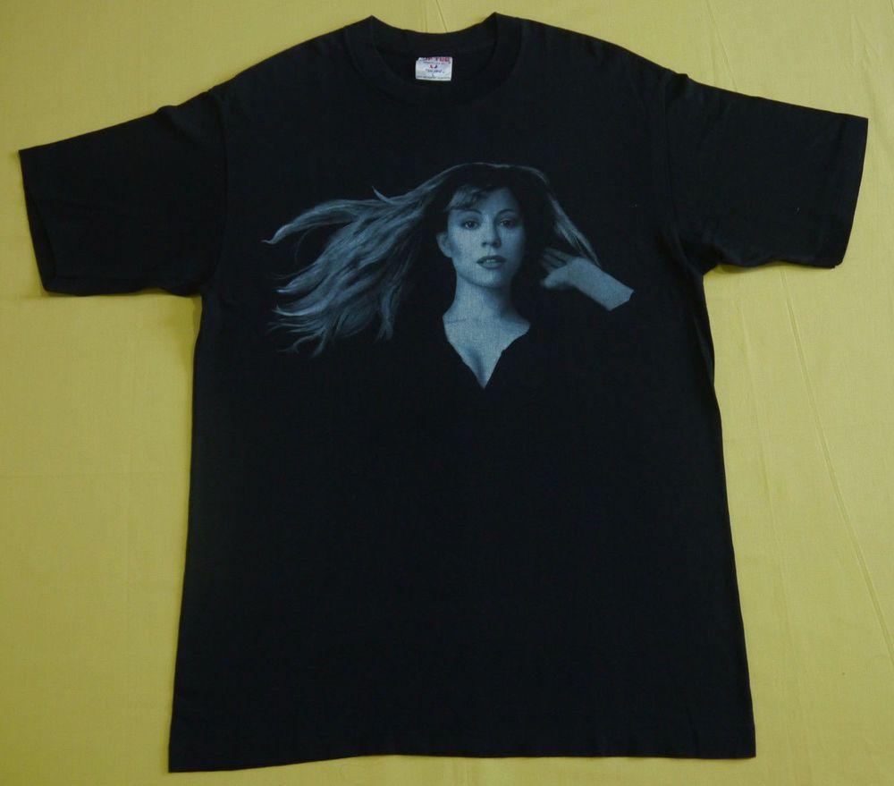 94d8dd458efa vintage 1996 MARIAH CAREY Daydream PROMO TOUR japan TOKYO dome t shirt 90s  LARGE Tokyo Dome