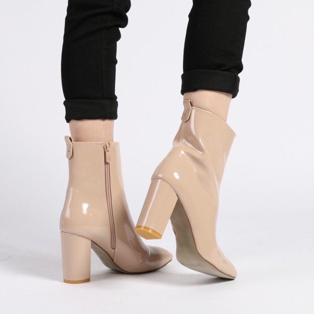 2016 Hot Sale Dune Daniela Jewel Heeled Peep Toe Ankle Boots Women Black Suede HMFRP9