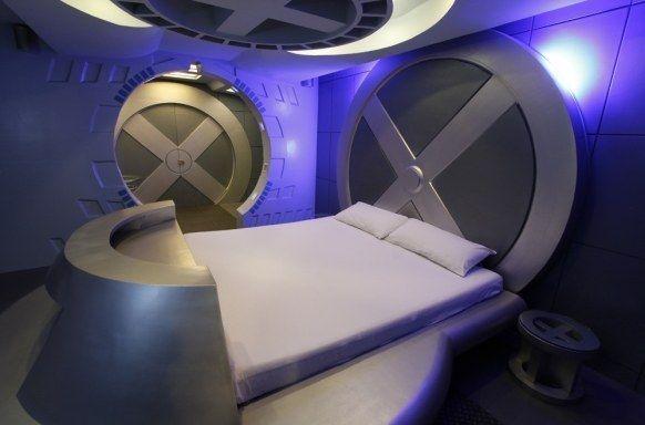 27 Geeky Interior Designs You Ll Want To Re Create Fantasy Bedroom Geeky Bedroom Geek Room