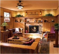 Stunning Arts And Crafts Style Homes Interior Design Gallery ...