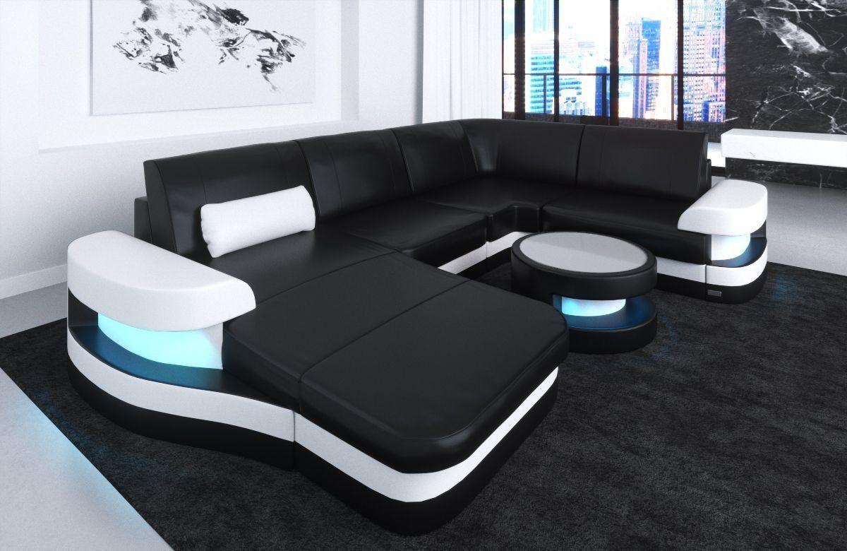 Couchgarnitur Couch Ecksofa Sofagarnitur Sofa U Form Volcano Neu Wohnlandschaft Couch U Form Sofa U Form Chaiselongue