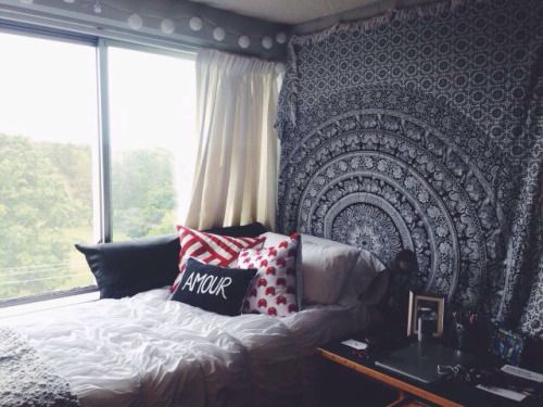 Tumblr bedrooms bedroom pinterest quartos for Cuarto estilo tumblr