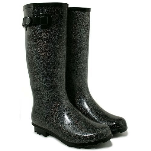 NEW WOMENS WELLIES BOOTS SHOES FESTIVAL WELLINGTON STYLE KNEE HIGH WELLY