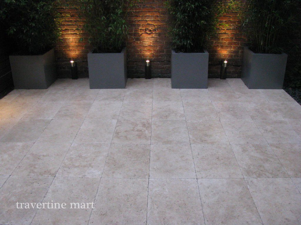 16x24 Ivory Tumbled Travertine Pavers Http Www Travertinemart Products