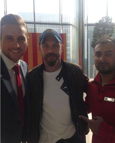 Tom Hardy - Bowel Cancer UK   Charity Day London, England - September 11, 2015.