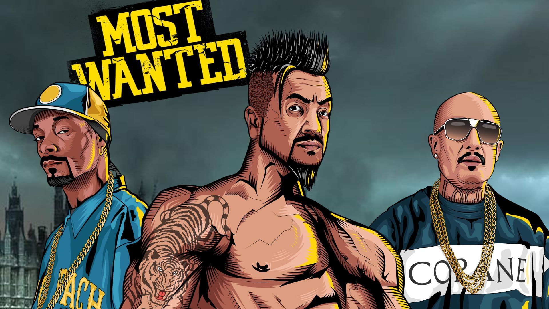 Most Wanted | Jazzy B | Mr  Capone-E Feat  Snoop Dogg