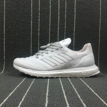 buy online 7e828 ae0b8 2018 Purchase Men Adidas Copa 17 1 Kith Ultra Boost Crystal White blanc  Clear Grey CM7895 Youth Big Boys Sneakers