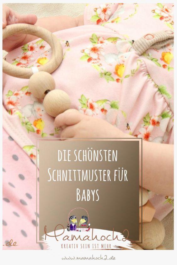 Die schönsten Schnittmuster für Babys | Baby nähen, Freebooks und Babys