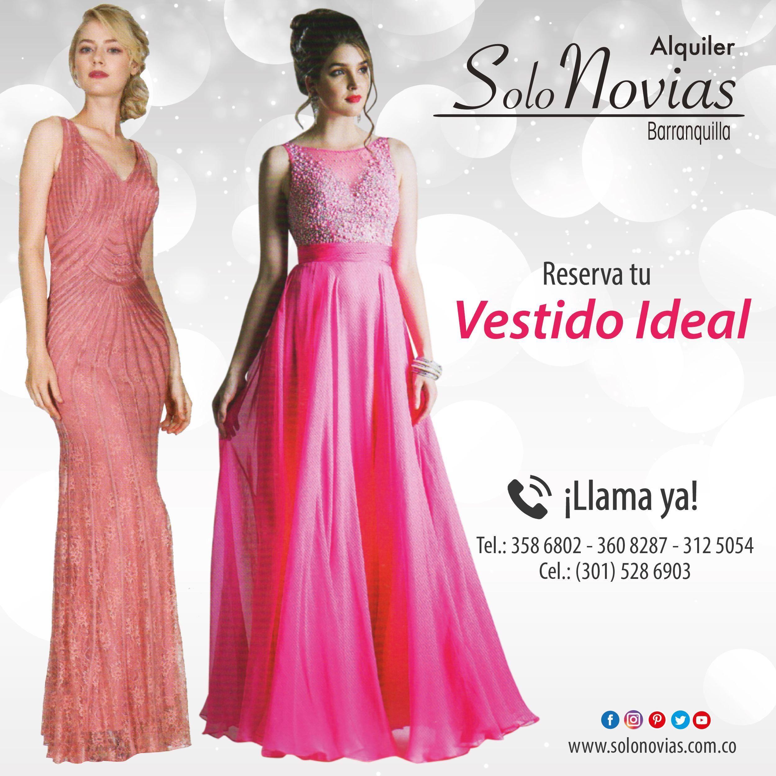Reserva tu vestido ideal en Solo Novias. Visítanos: Local Principal ...