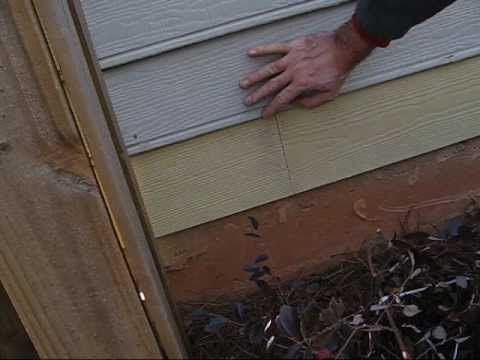 How To Repair Siding The How To Self Learning Videos
