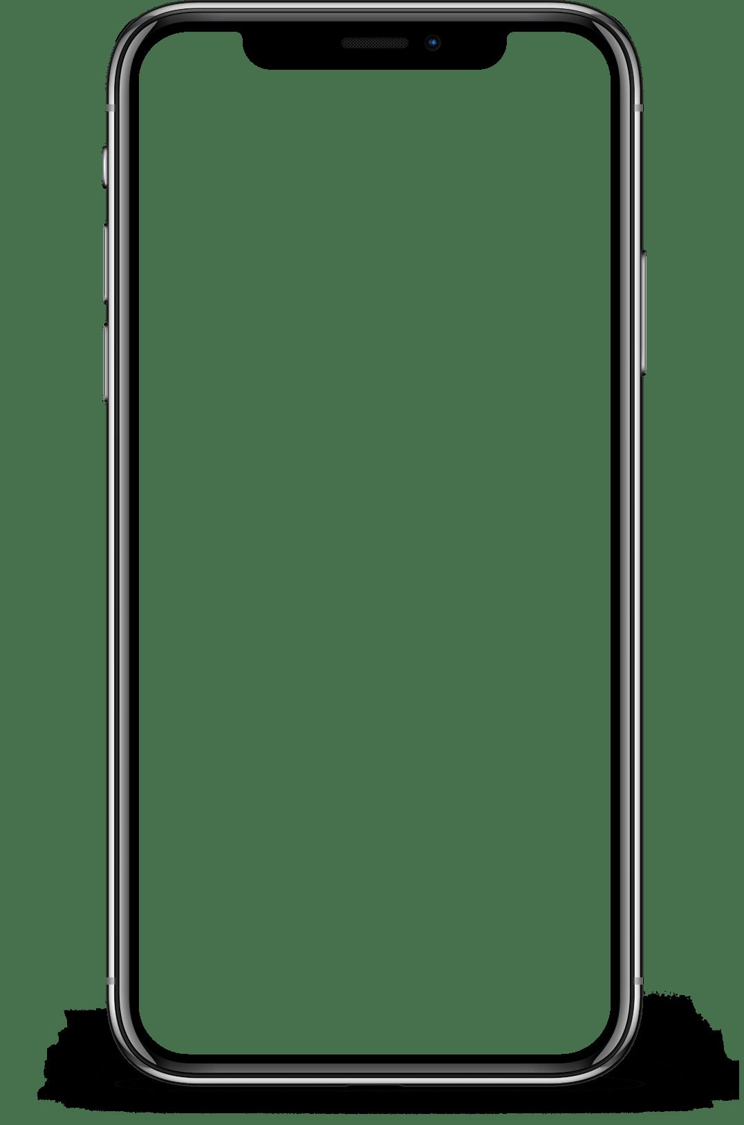 Png Iphone X Transparent Phone Template Iphone Transparent Case Iphone Mockup