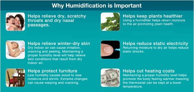 Honeywell Germ Free Cool Mist Humidifier HCM-350 Benefits