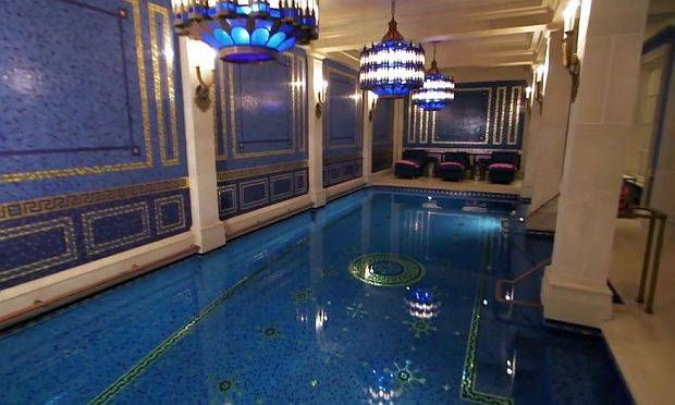The Turkish Spa Themed Indoor Pool In The Basement Of Kelli And Gerald J Ford 39 S Dallas Mansion