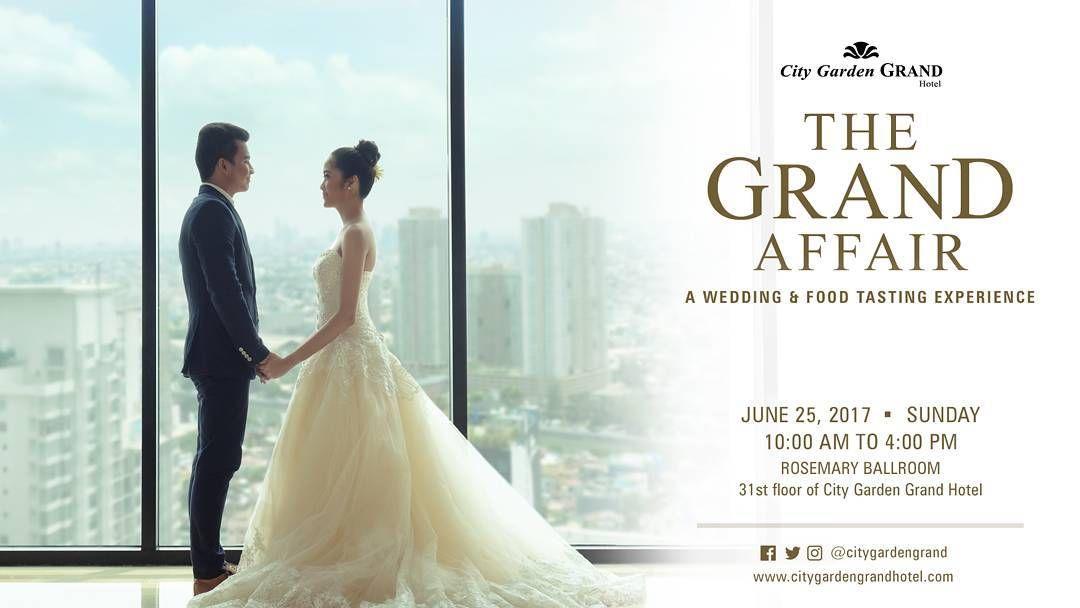 Wedding plans? THE GRAND AFFAIR is happening tomorrow It\u0027s a