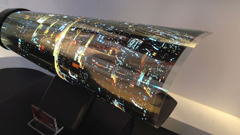 Crazy LG OLED TV is so thin and light it sticks to the