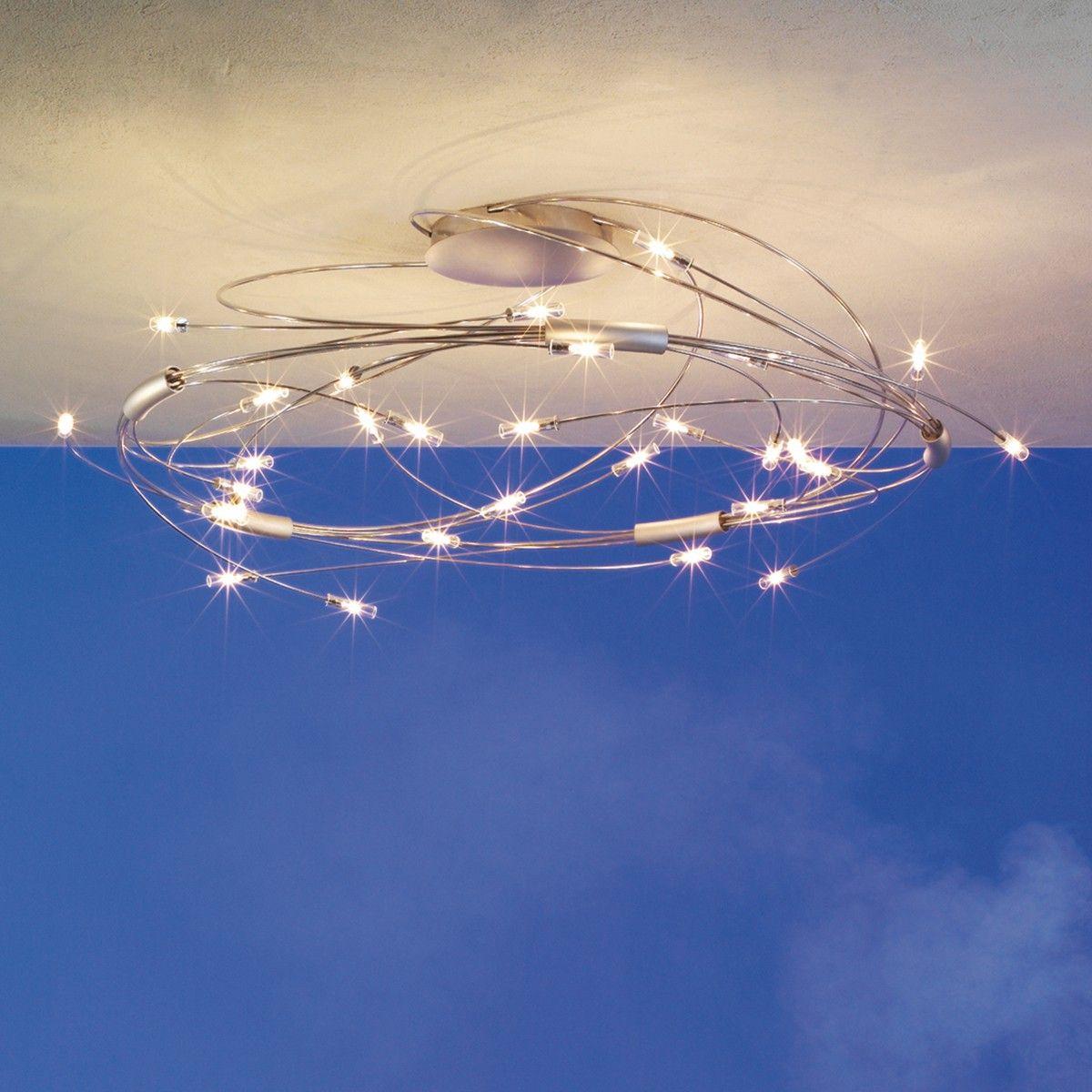 Deckenleuchte Große Deckenbeleuchtung Wohnzimmer Tipps Designer Deckenleuchte Schwarz Orseo Merk Beleuchtung Decke Deckenleuchte Schwarz Wohnraumleuchten