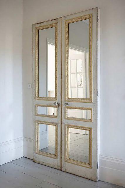Useful Repurposed Mirror Frames Ideas Closet Closet