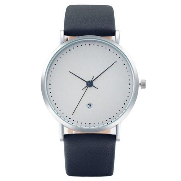 AdoreWe - Rosewholesale Faux Leather Strap Minimalist Date Watch - AdoreWe.com