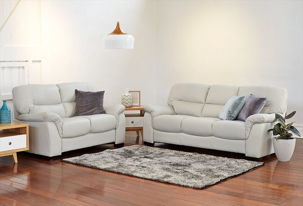 Sofas And Sofa Pairs Dawson 3 2 Lounge Suite 1033 Perth Western Australia Furniture Bazaar Lounge Suites Furniture Bazaar White Leather Furniture