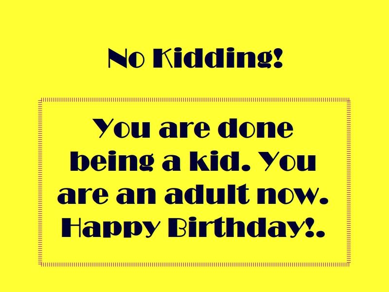 Quotes 18Th Birthday Amusing 18Th Birthday Wishes Texts And Quotes 152 Examples  Happy