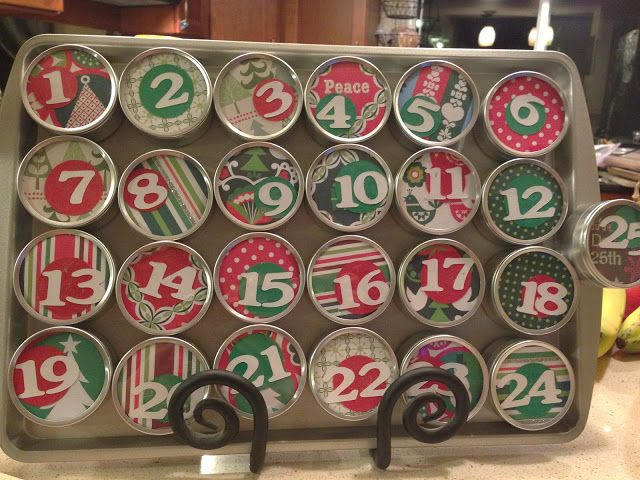 Adventing around; Super easy advent calendar Holiday Ideas