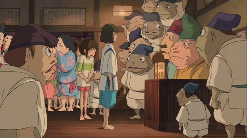 Spirited Away 2001 In 2020 Spirited Away Spirited Away Pigs Animation