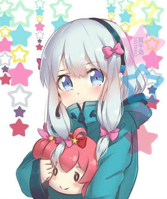 Anime, Аниме, Art, Izumi Sagiri, Eromanga Sensei