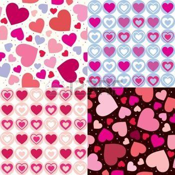 motif coeur: mis valentine seamless pattern c?urs. Vector illustration