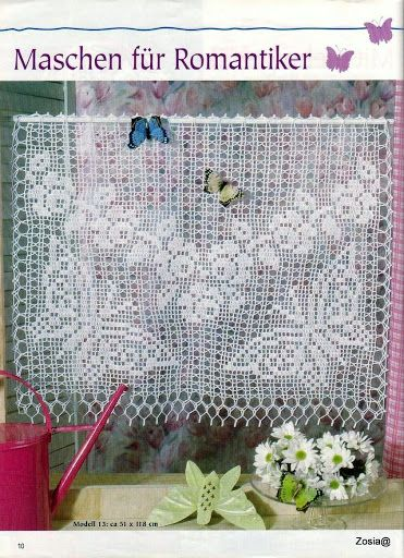 Filethakeln S FI 154 - Zosia - Picasa… | Filet Lovely Filet (Crochet ...