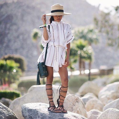 Olivia Lopez/ Lust For Life | Coachella | SANCIA Luna Cross Body Bag