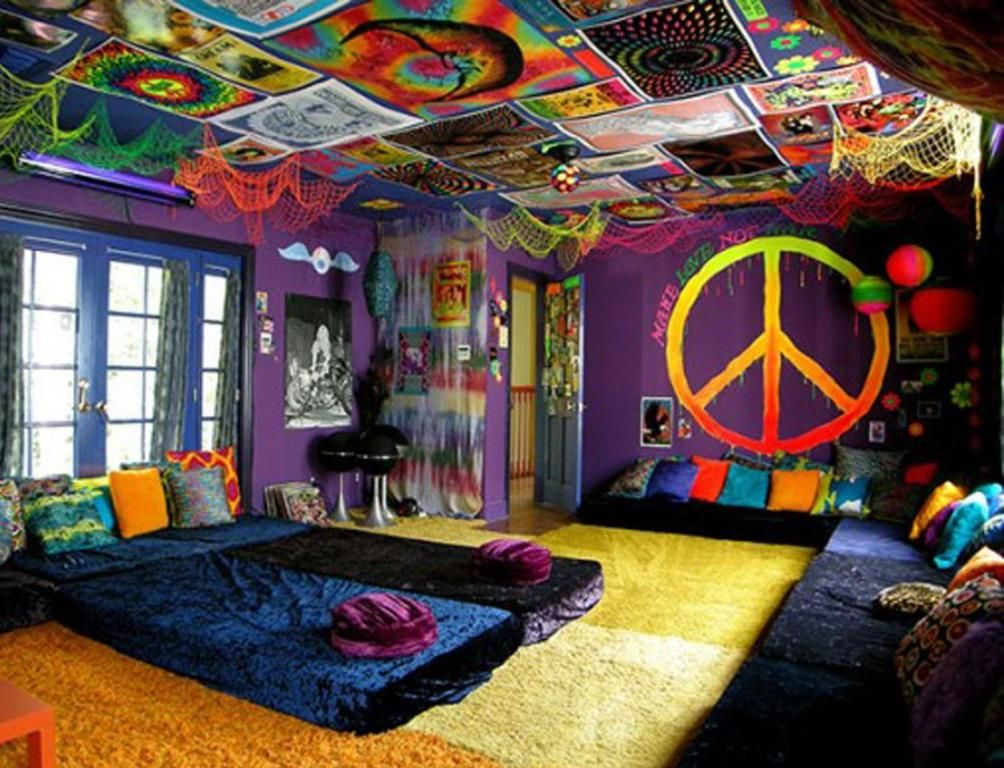 Diy hippie decor ideas for Living room ideas hippie