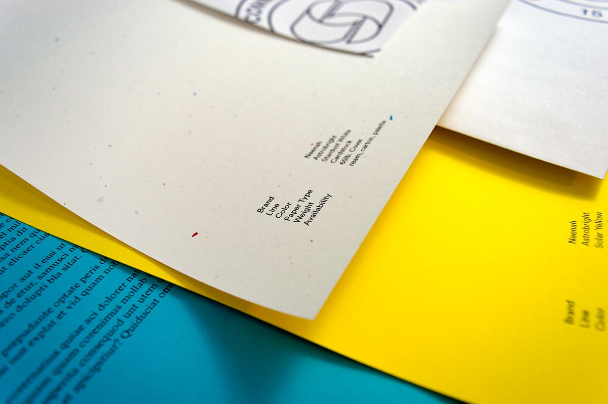 Branding for Commerce Paper, a paper distribution & supply