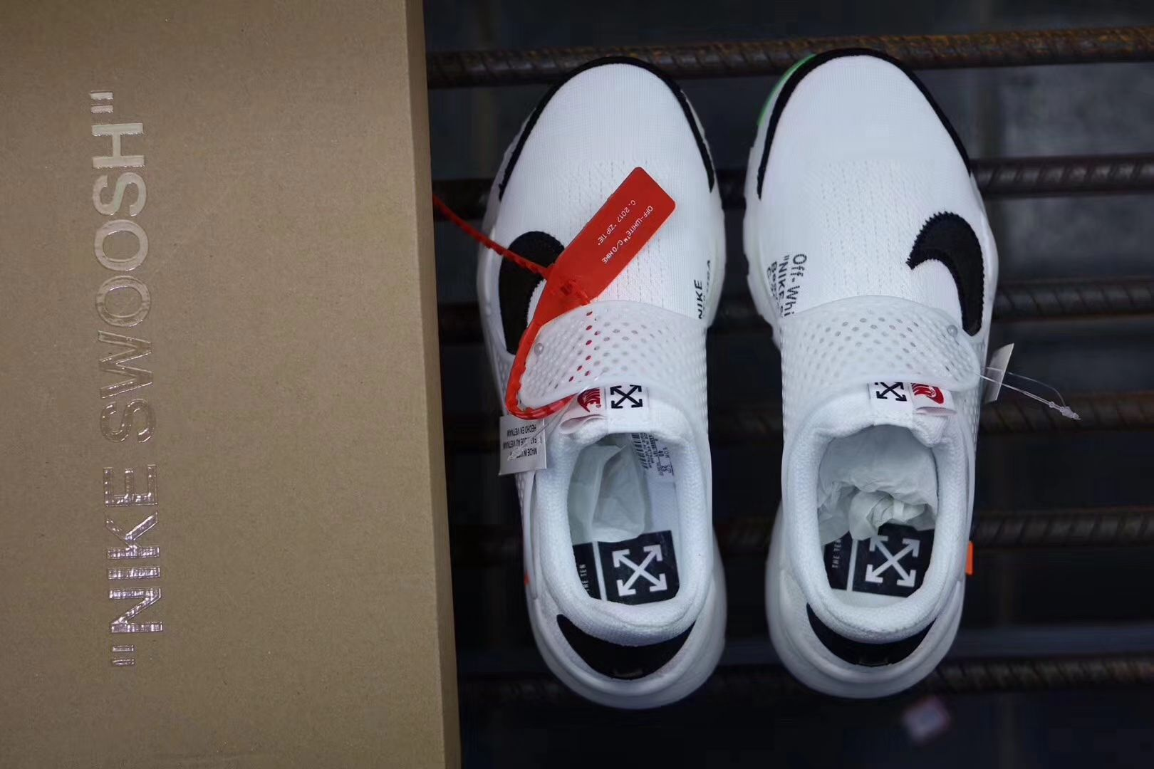 save off 38b26 712bc OFF White x Nike Air Presto OW Running Sneaker 09