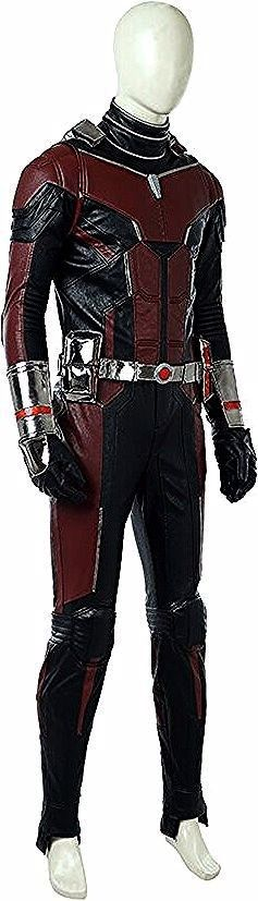 Scott Lang Cosplay Costume Deluxe Leather Outfit PVC Helmet Lot AntMan Scott Lang Cosplay Costume Deluxe Leather Outfit PVC Helmet Lot  AntMan Cospaly Costume from Cival...