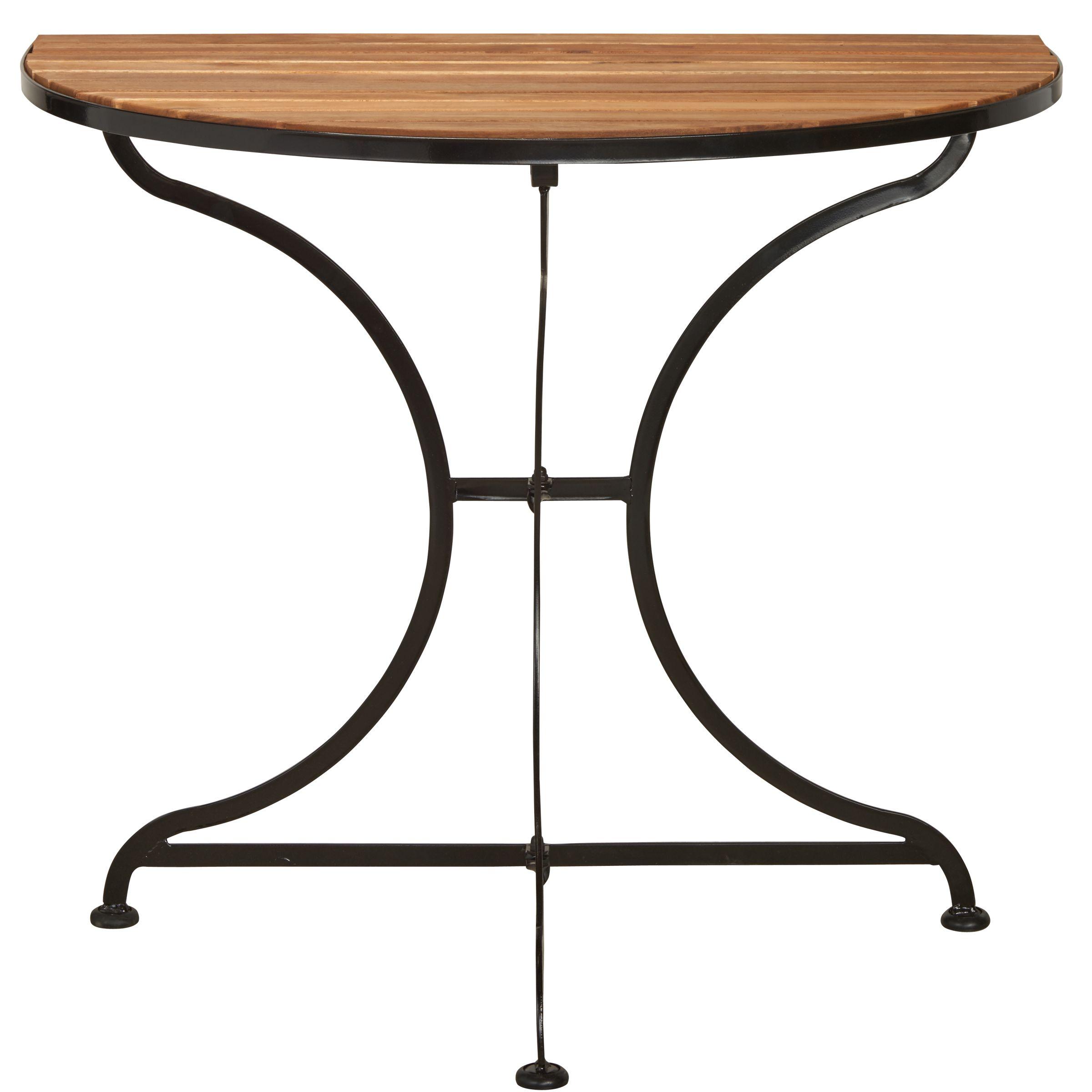 Parklife Balkon Tisch Halbrund Klapptisch Tisch Klapptisch Holz