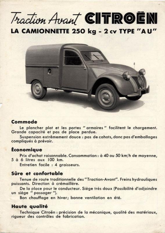 Les 60 Ans De La 2cv Histoire Et Patrimoine Anciennes Forum Collections 2cv Citroen 2cv Camionnette