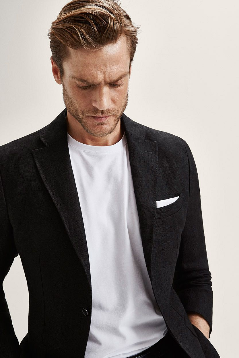 Jason morgan for massimo dutti nyc limited collection black