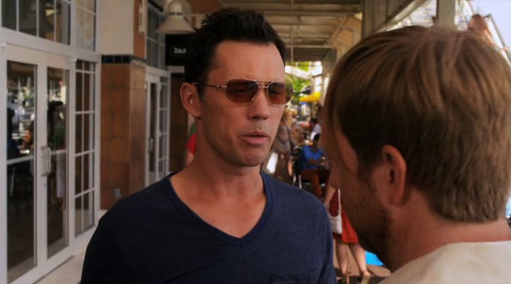 "Burn Notice 5x13 ""Damned If You Do"" - Michael Westen (Jeffrey Donovan) & Oswald Patterson (Ptolemy Slocum)"
