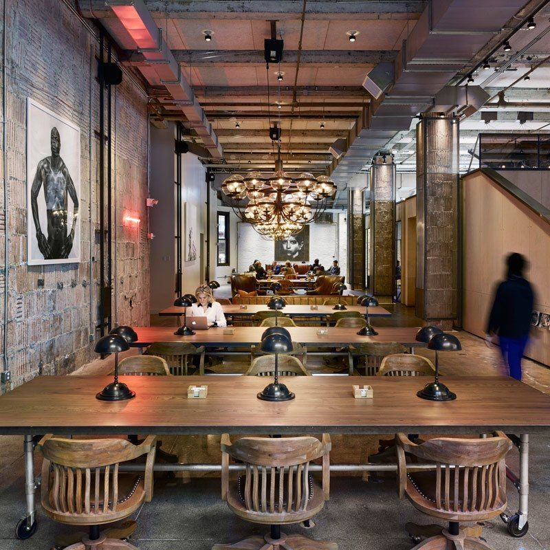 Inside neuehouse s super stylish nyc coworking space Coworking space design ideas