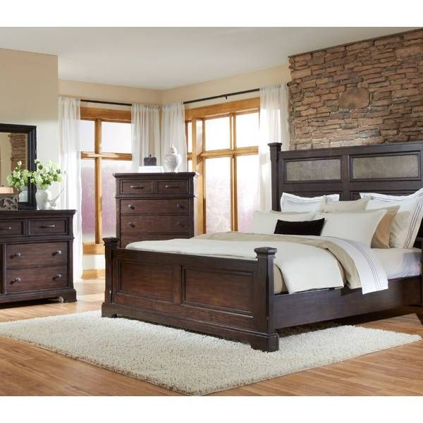 Home Decor Stores Houston Tx: Crystal Ridge Panel King Bedroom Group