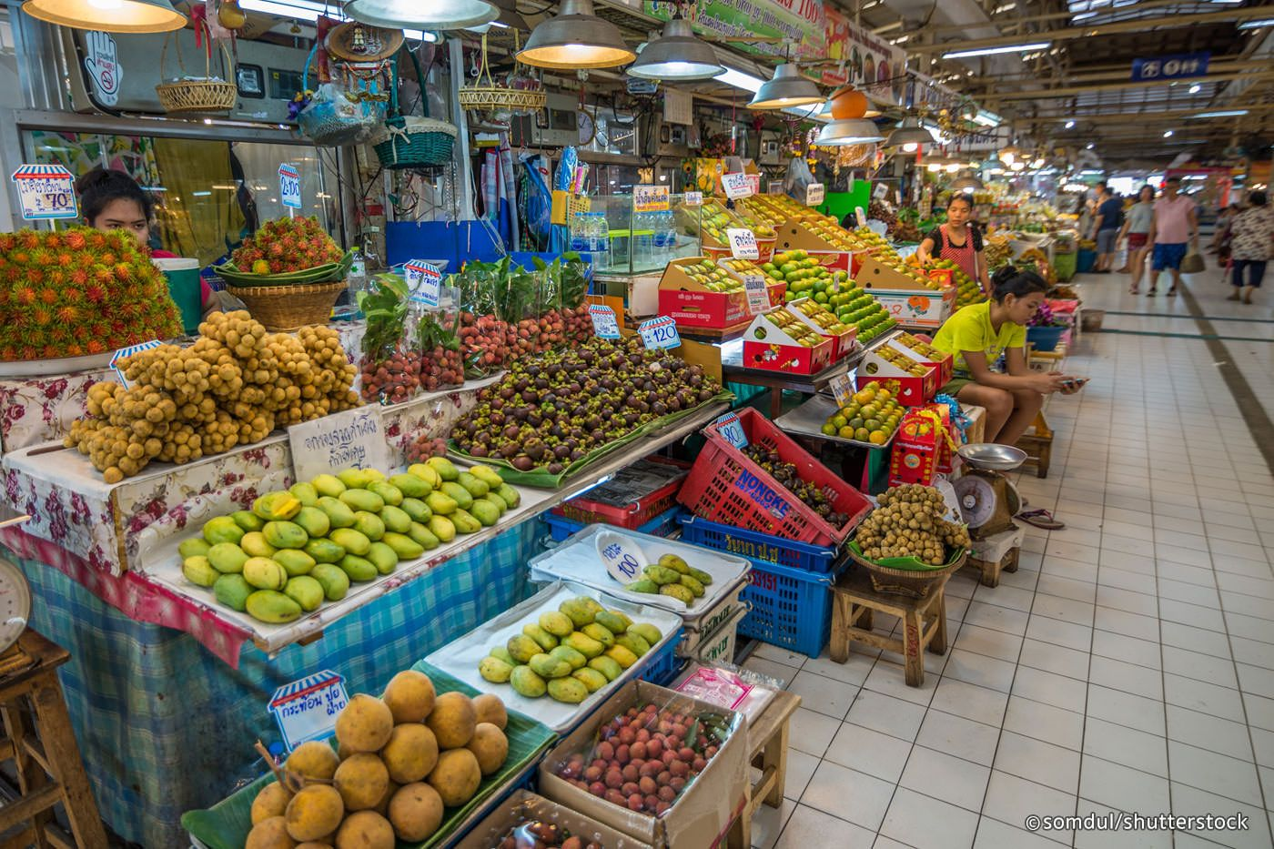 Ranked the 4th best fresh market in the world by a famous