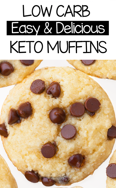 Super Healthy Vegan Keto Muffins -  You will fall in LOVE with these easy low carb keto muffins – ev...