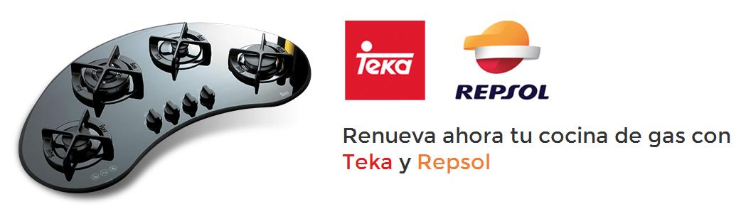 Renueva ahora tu cocina de gas con Teka y Repsol http://materialdirecto.es/blog/renueva-ahora-tu-cocina-de-gas-con-teka-y-repsol/