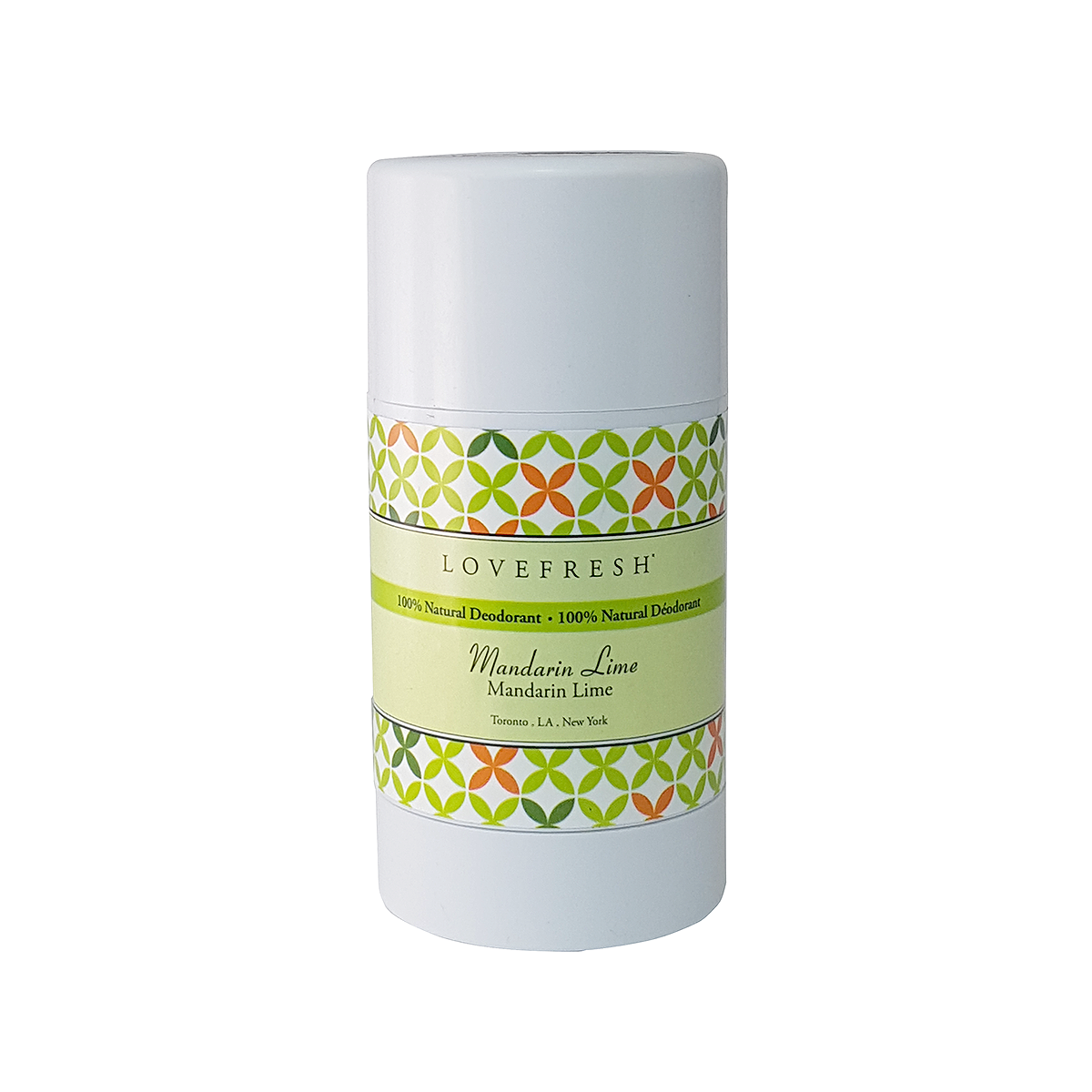 Mandarin Lime  Natural Deodorant  Baking Soda Free  Products